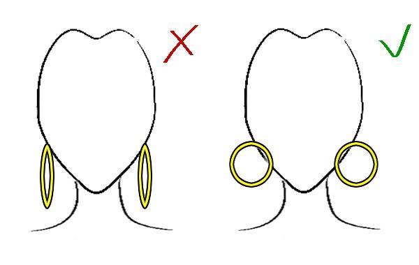 Jak dopasować kolczyki do kształtu twarzy